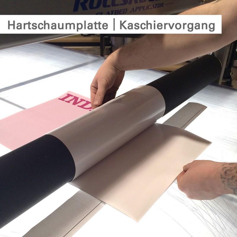 Hartschaumplatten bedrucken – individuell und günstig bestellen bei SalierDruck.de.
