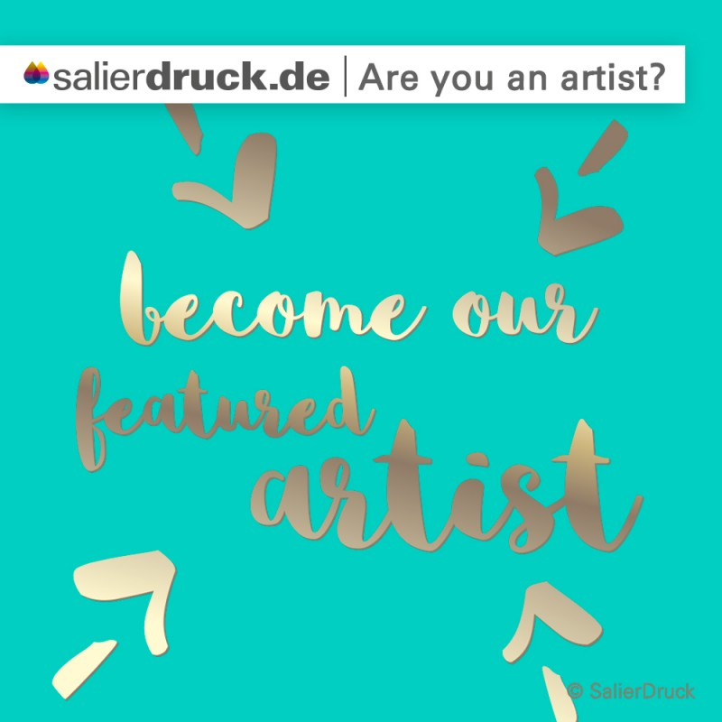 Werde Featured-Artist bei SalierDruck.