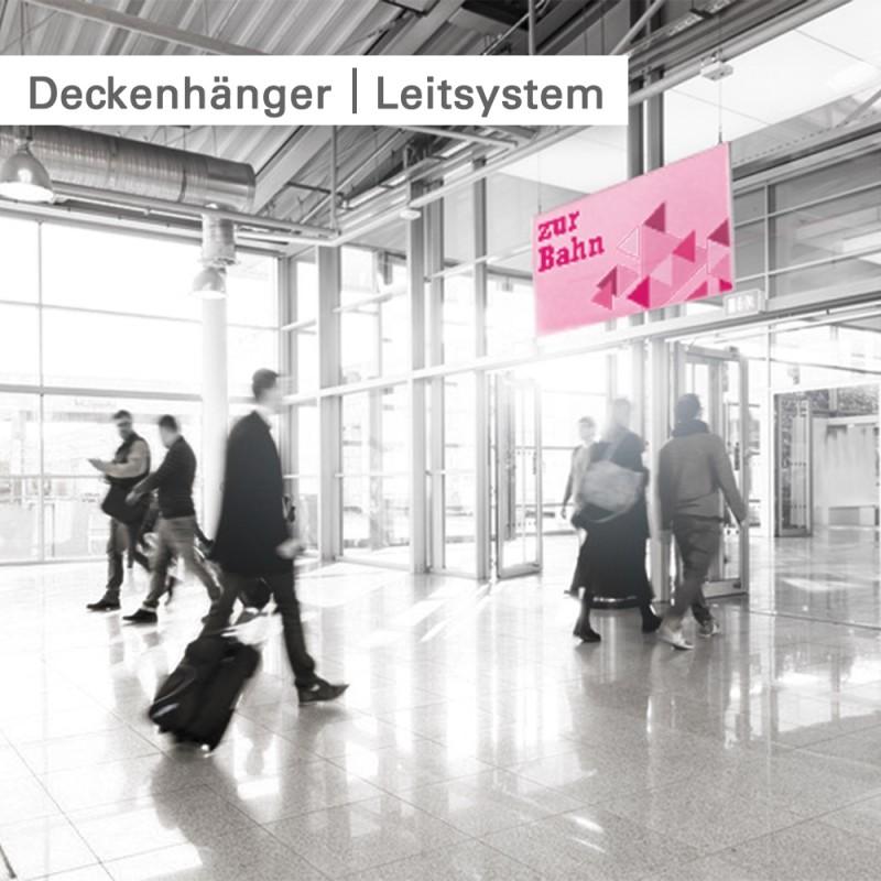 Deckenhänger drucken - individuell mit Ihrem Motiv bei SalierDruck.de.
