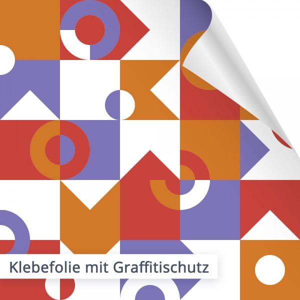 Klebefolie mit Graffitischutz