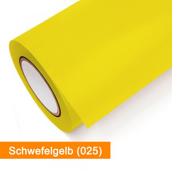 Plotterfolie Oracal - 751C-025 Schwefelgelb - günstig bei SalierShop.de