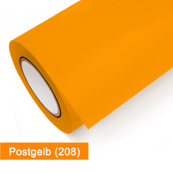Plotterfolie Oracal - 751C-208 Postgelb - günstig bei SalierShop.de