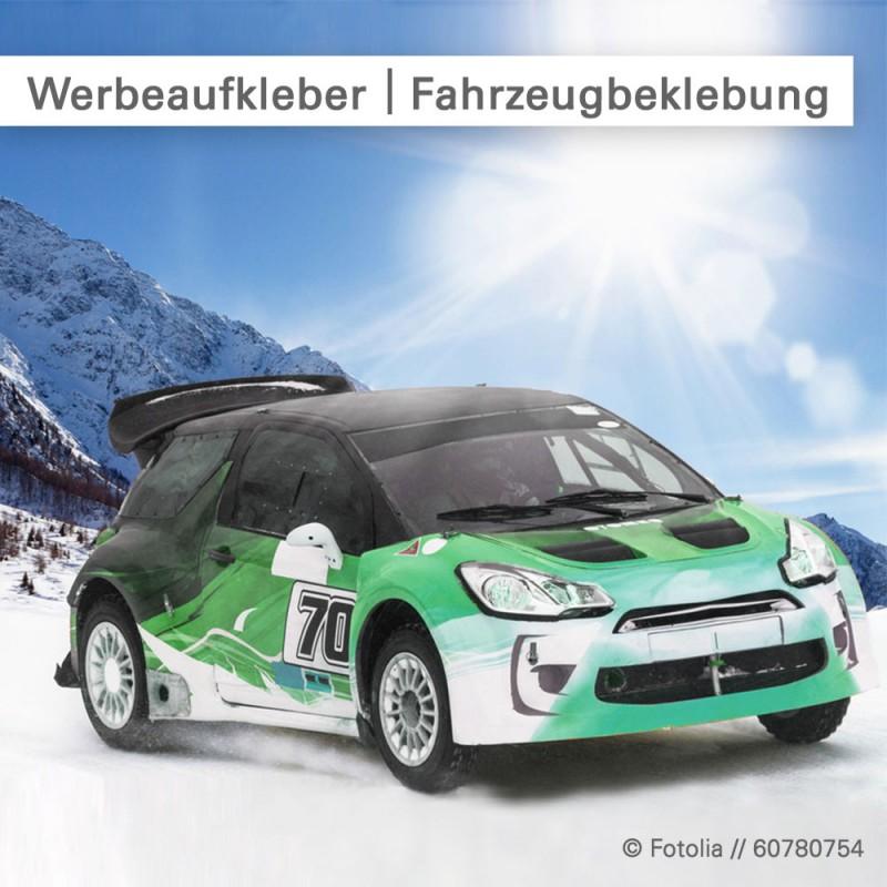 Werbeaufkleber auf Fahrzeugen - SalierDruck.de