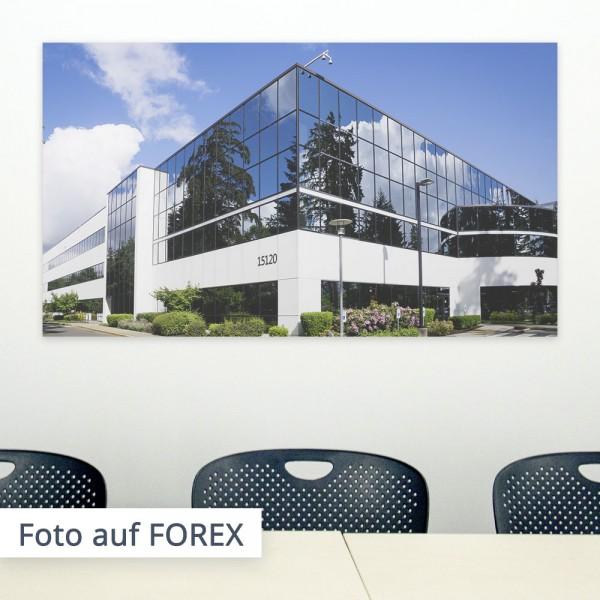 Präsentieren Sie Ihre Firma in wichtigen Meeting Räumen oder Sälen, indem Sie hochauflösende Bilder an die Wand anbringen.