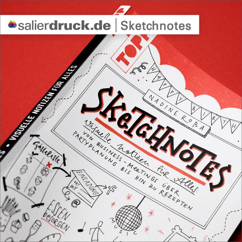 """""""Sketchnotes"""" das Buch Inhaltsverzeichnis – SalierDruck"""