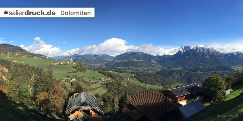 Die Gebirgsgruppe der Kalkalpen wird auch Dolomiten genannt.