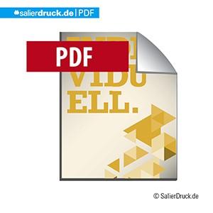 Eine PDF-Datei ist das wichtigste Format zum Austausch von Daten.
