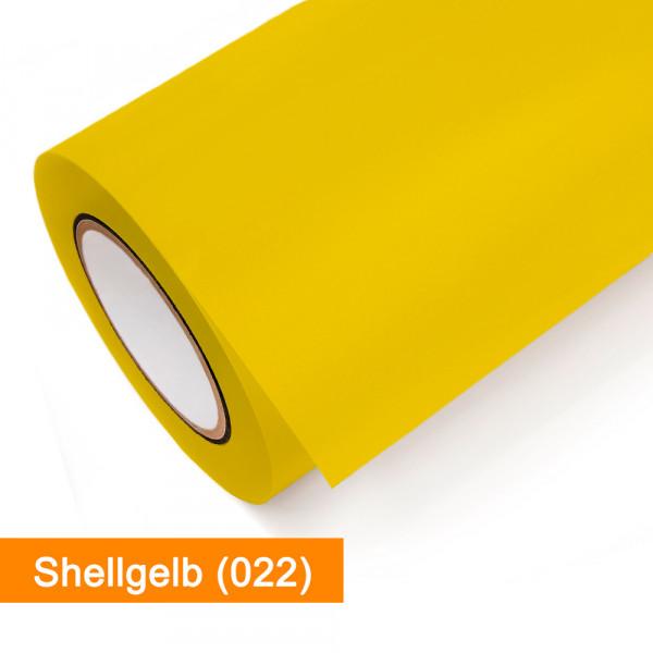 Plotterfolie Oracal - 751C-022 Shellgelb - günstig bei SalierShop.de