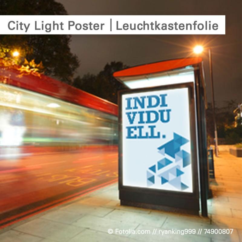 City Light Poster – Leuchtkastenfolie individuell bedruckt | gleich bestellen auf SalierDruck.de
