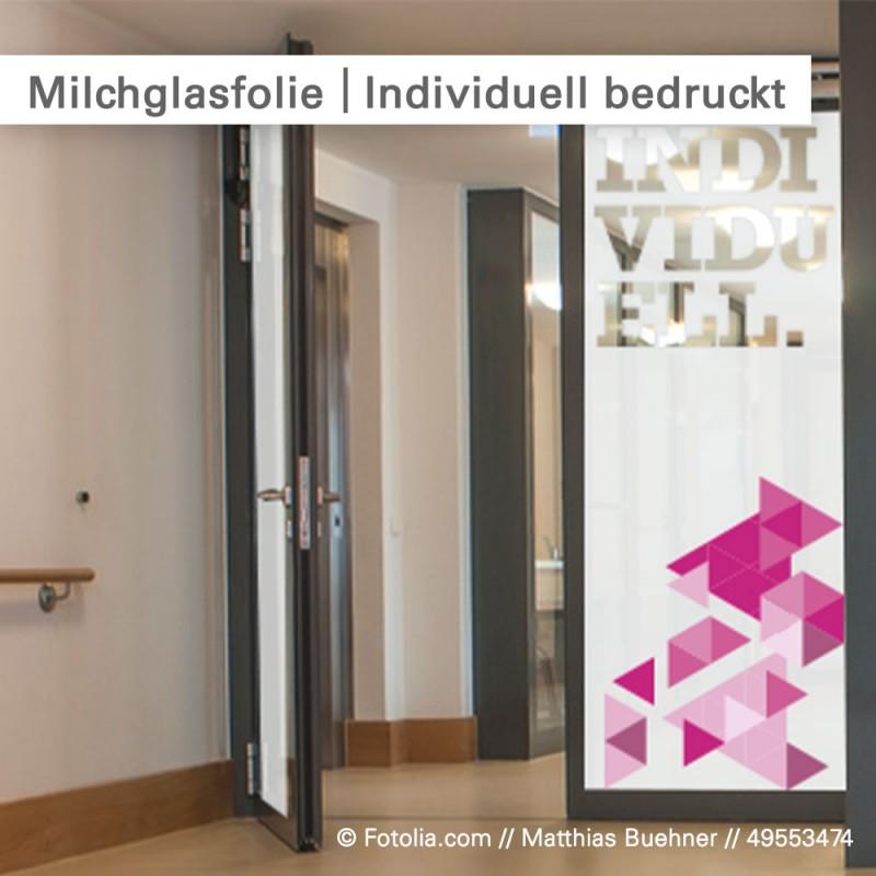 Werbefolien für Glastüren und Fenster - individuell drucken bei SalierDruck.de