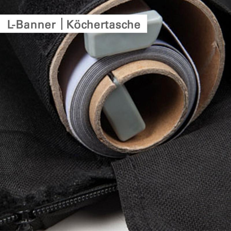 L-Banner Köchertasche | SalierDruck.de