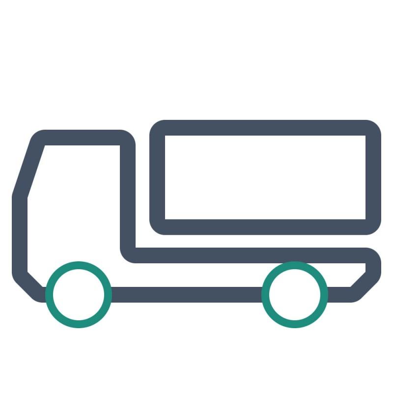Aufkleber für Planen finden bei LKWs mit Planenanhänger perfekte Verwendung.