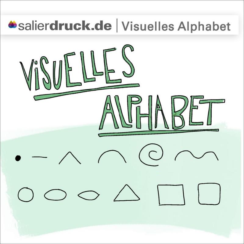 Das visuelle Alphabet als Baukasten für Sketchnotes – SalierDruck