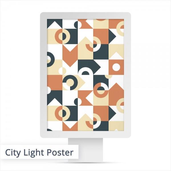Das City Light Poster ist die modernere Art mit Ihrem Motiv zu werben. Das hinterleuchtete Poster ist vor allem in Großstädten, in den Leuchtsäulen bekannt.