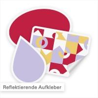 Reflektierende Aufkleber sind einfach individuell konfigurierbar | SalierDruck.de