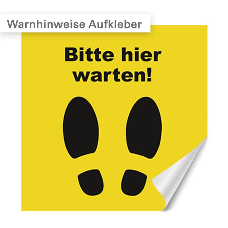 Warnhinweise auf Klebefolie oder als Aufkleber | SalierDruck.de
