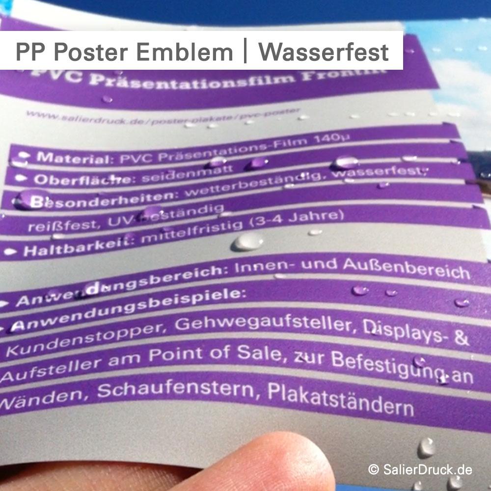 DIN A2 Plakate farbig drucken · PROFI · Poster Farbe · auch wetterfest bedrucken