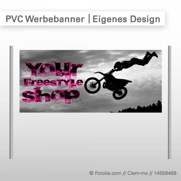 PVC-Werbeplanen geöst