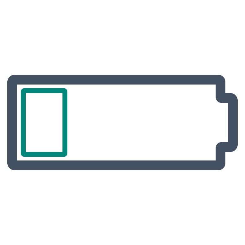 Stark haftende Aufkleber sind speziell für die Haftung auf niederenergetischen Untergründen ausgelegt.