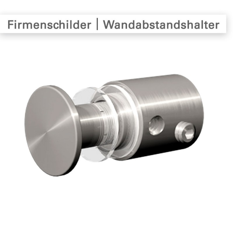 Befestigungsmaterial für Firmenschilder – SalierDruck.de