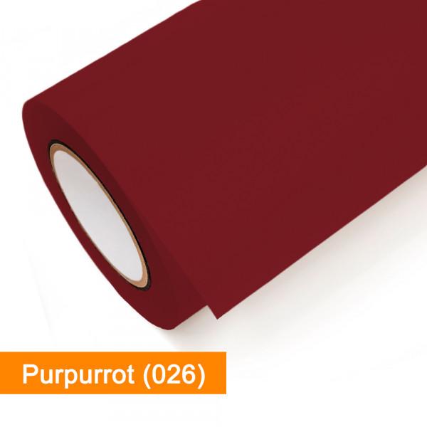 Plotterfolie Oracal - 651-026 Purpurrot - günstig bei SalierShop.de