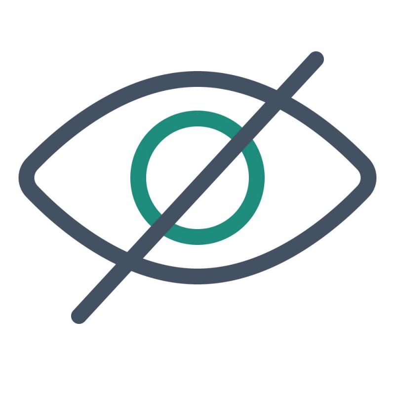 Mit blickdichten Produktaufklebern können fehlerhafte Informationen ausgebessert oder Muster überklebt werden, ohne das etwas durchscheint.