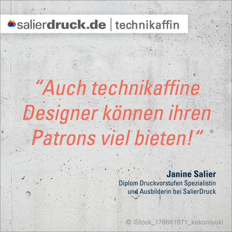"""""""Auch technikaffine Designer können ihren Patrons viel bieten."""""""